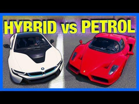 Forza Horizon 3 Online : HYBRID vs PETROL!!