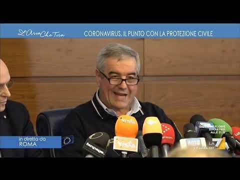Ultimi aggiornamenti Coronavirus, Angelo Borrelli: '283 persone contagiate, 7 deceduti, 1 guarito'