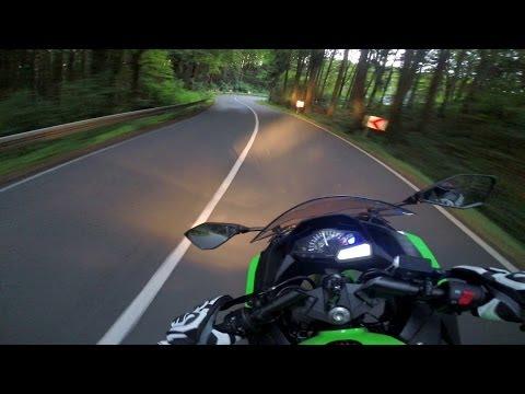 Kawasaki Ninja 300 - RACING Twisties #1