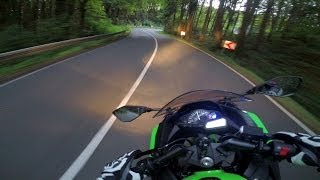 Kawasaki Ninja 300 - RACING Twisties #1