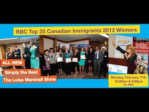 RBC Top 25 Canadian Immigrants 2013