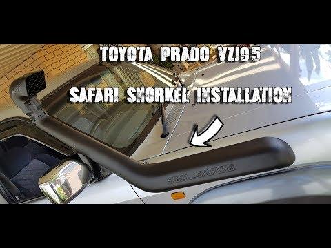 Toyota Prado 90 Series | Snorkel Install | All The Hard Bits!