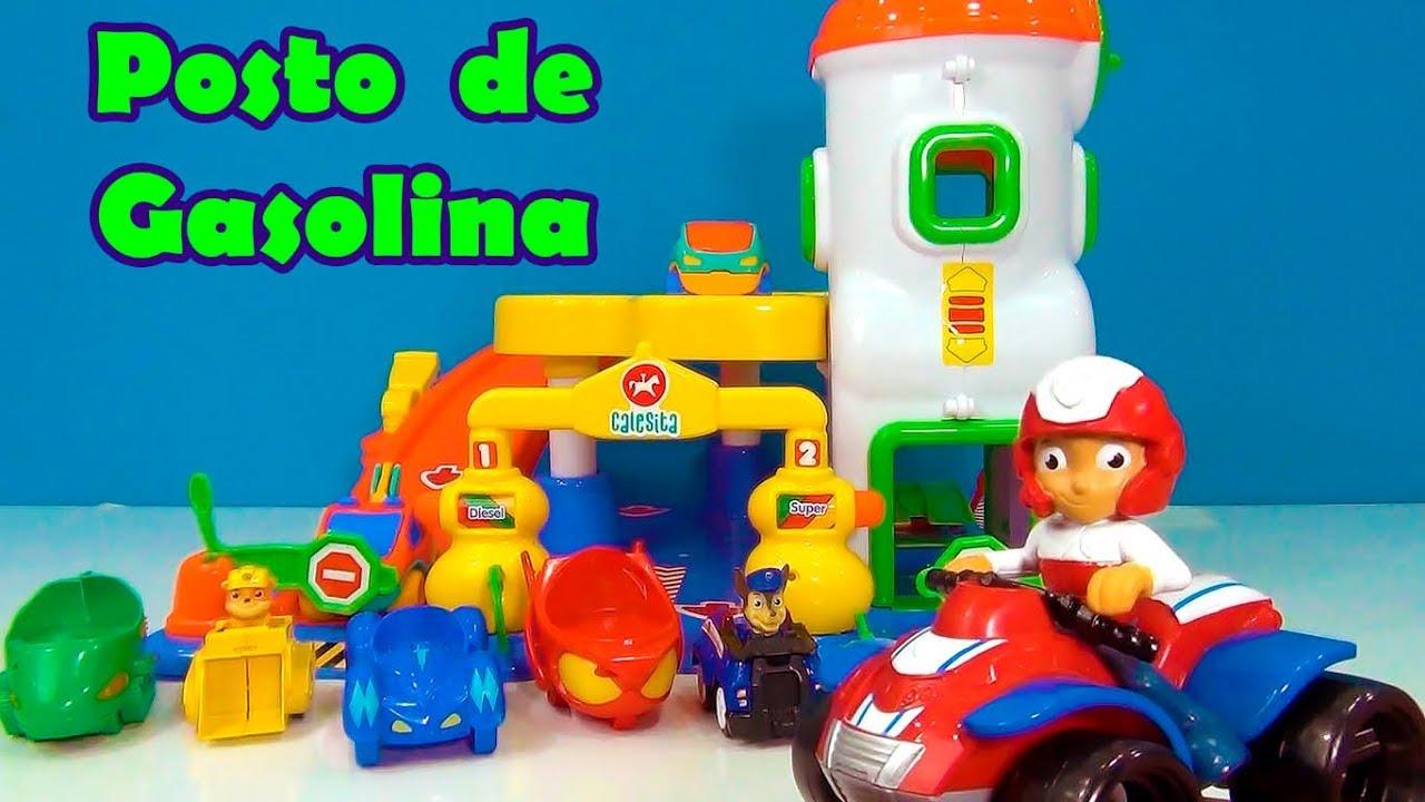 Download PJMASKS E PATRULHA CANINA NO POSTO DE GASOLINA -VENHA SE DIVERTIR ! #TiaCris
