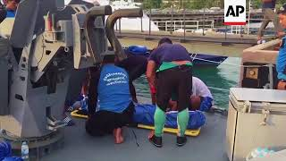 More bodies brought back to shore after Phuket tourist boat sinking