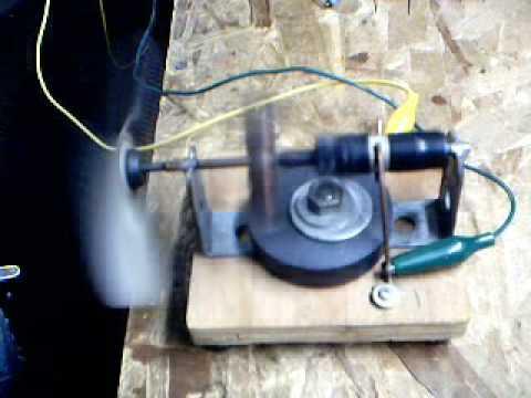 Homemade Electric Motor Youtube