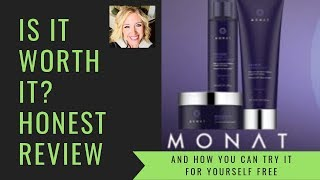 ARE MONAT HAIR PRODUCTS GOOD? | HONEST REVIEW MONAT HAIR CARE FOR DRY HAIR