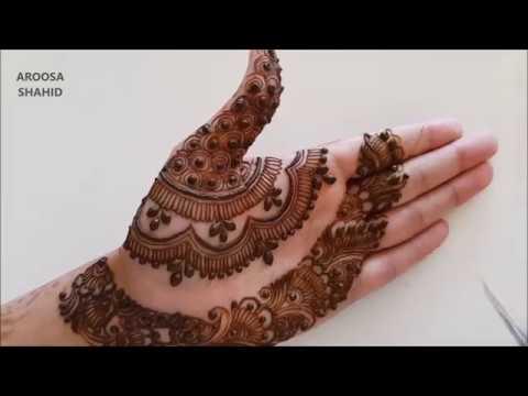 New Unique Henna Mehndi Design Youtube