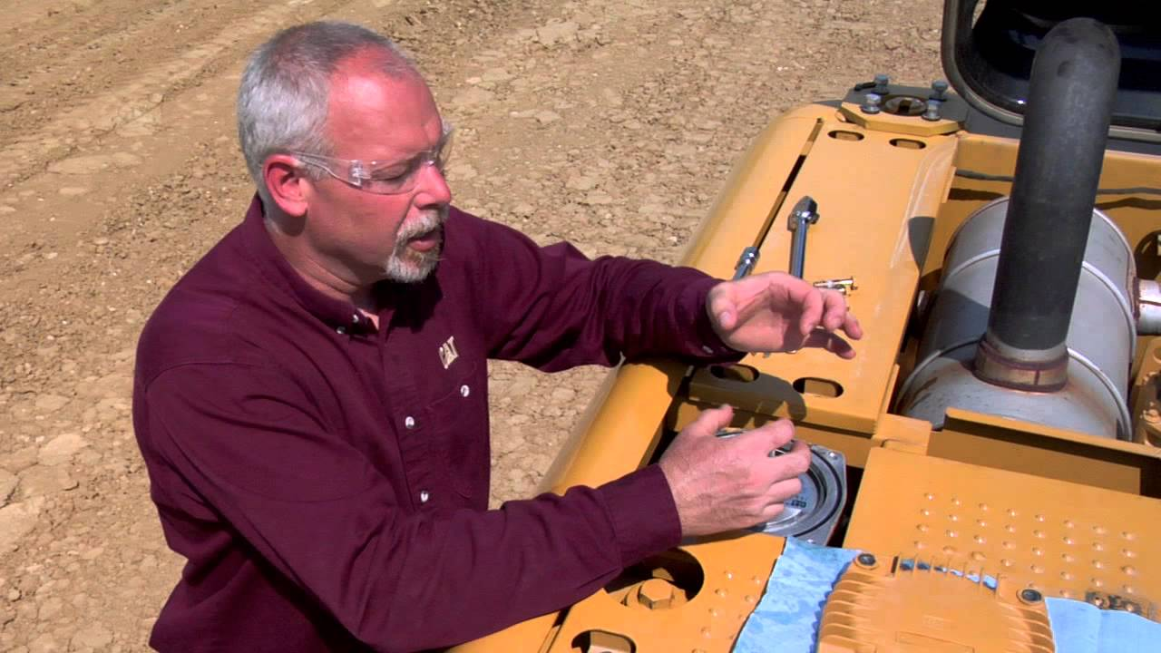 Properly Changing Return Filter On Cat 174 Hydraulic