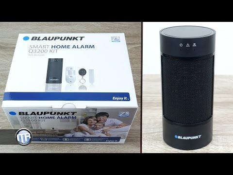 Blaupunkt Smart Home Alarm Q3200 - Modernes Alarmsystem - 4k