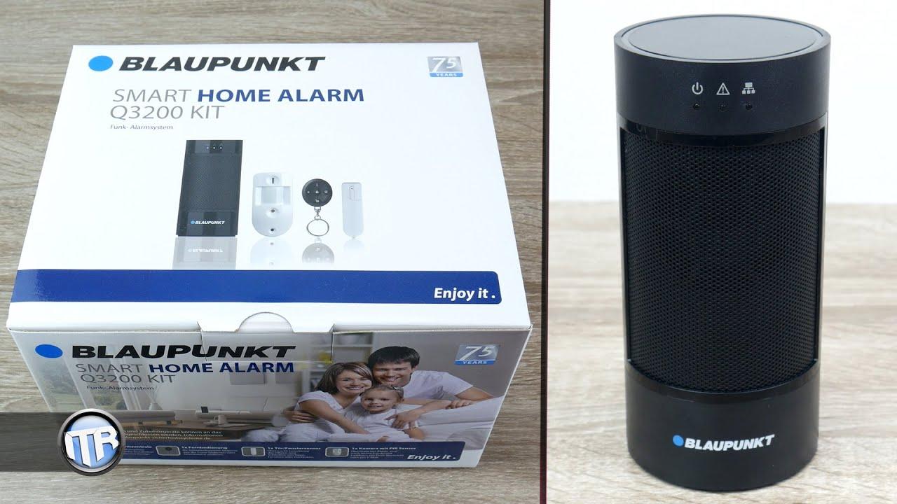 Smart Home Funk blaupunkt smart home alarm q3200 modernes alarmsystem 4k home