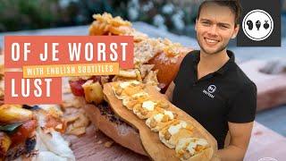 Of je worst lust! Worsten maken op de BBQ | Vlog #1