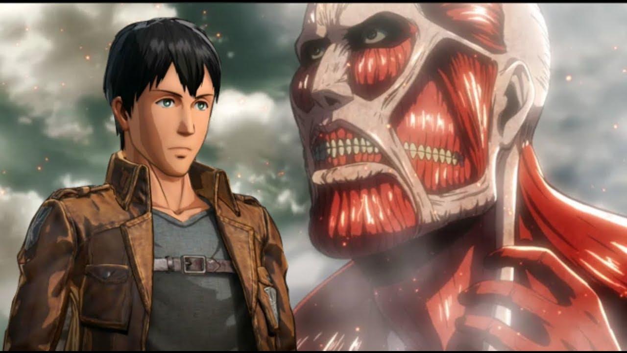 進擊的巨人2 貝爾托特全好感支線 PS4 Pro Attack on Titan 2 - YouTube