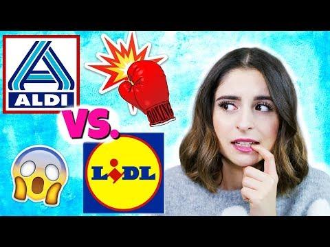 ALDI vs. LIDL DISCOUNTER CHALLENGE 2018💥 | WER GEWINNT? #BATTLESUNDAY MIT GIULIA GROTH ♡