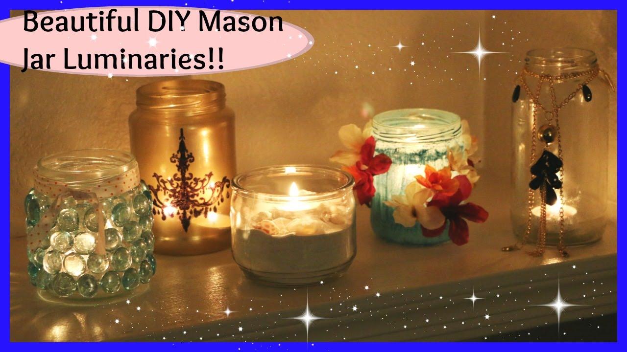 Decorative Mason Jars Home Decor Easy Affordable Options Laxmi