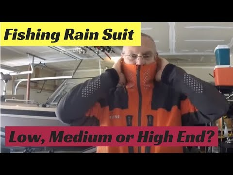Fishing Rain Suit - Low-End, Medium Or High-End?