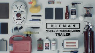 HITMAN | WORLD OF ASSASSINATION TRAILER | PS4
