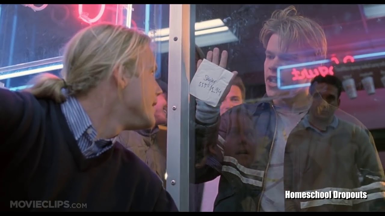 The How Do You Like Them Apples Scene From Good Will Hunting But