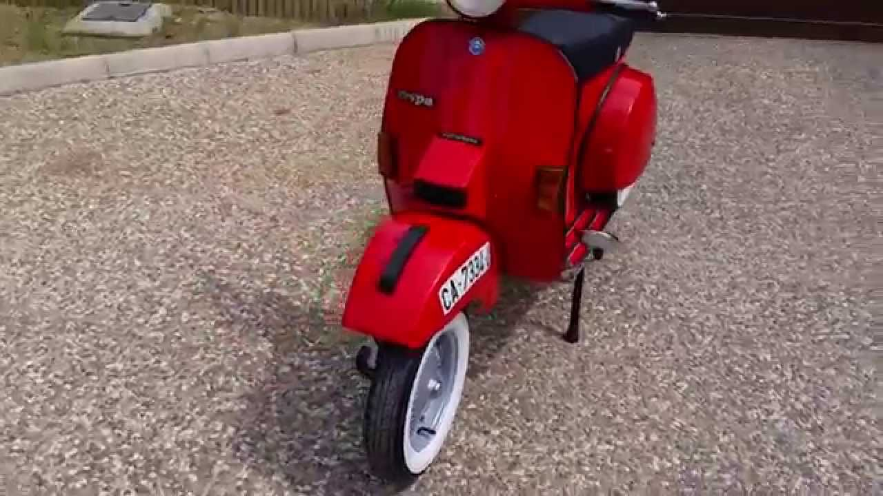 vespa px 200 iris e 1986 youtube. Black Bedroom Furniture Sets. Home Design Ideas