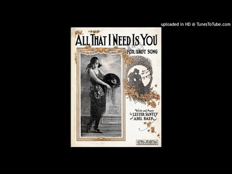 New York Havana Band - All That I Need Is You - 1922