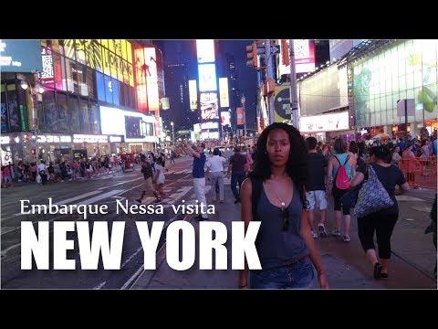 DICAS NEW YORK | EMBARQUE NESSA VISITA