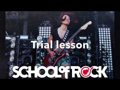 FREE TRIAL LESSON @ School of Rock Round Rock