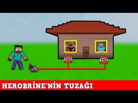 HIRSIZ VS POLİS #55 - Herobrine'nin Tuzağı - Minecraft