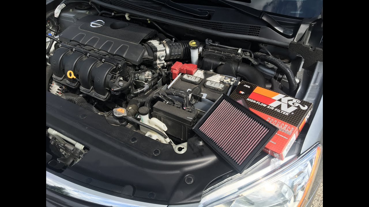 How to Change an Air Filter (2013-2019 Nissan Sentra ...