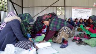 Nepal: Stitch by stitch – Earthquake survivors take charge of their recovery