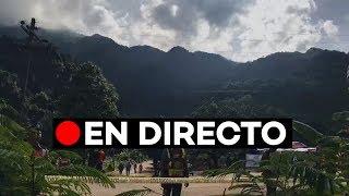 En directo: Sigue el rescate de los niños perdidos en una cueva de Tailandia