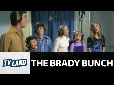 The Brady's Sing 'Time To Change' | The Brady Bunch | TV Land