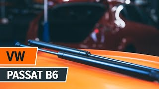 Como trocar amortecedores de capô VW Passat | Tutorial HD