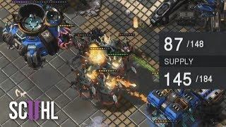 70 SUPPLY DOWN COMEBACK?! - Starcraft 2 IEM: Reynor vs Gumiho