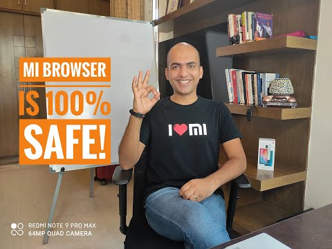 Mi Browser and all Xiaomi internet services are 100% SAFE. Please DO NOT believe INCORRECT NEWS!