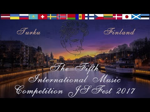 The Fifth International JSFest Vocal Competition.