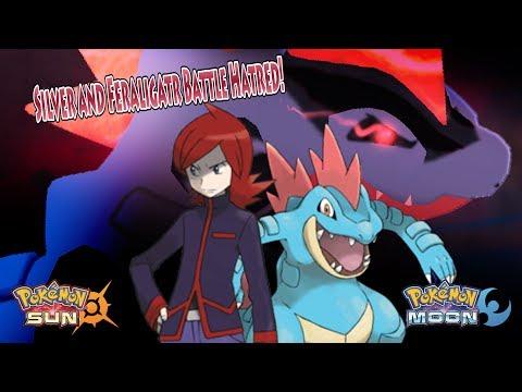 Pokemon Sun and Moon: Giovanni Vs Silver (Feraligatr Battle Hatred)