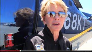 Bestselling Author Patricia Cornwell Gets After It