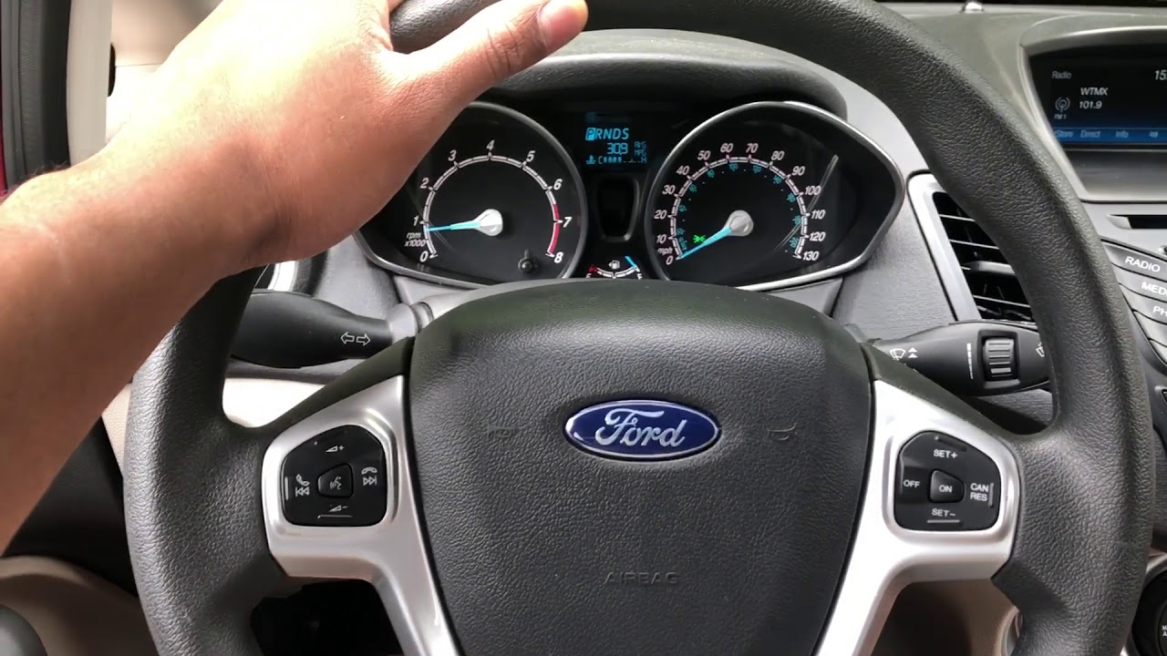 ford fiesta cruise control location youtube