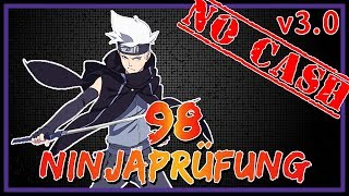 Naruto Online - Ninjaprüfung/Ninja Exam 98 - Nachtklinge [v3.0 - No Cash]