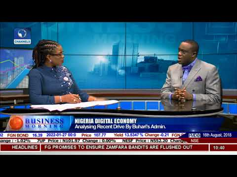 Analysing Impact Of The Digital Drive Under Pres Buhari |Business Morning|