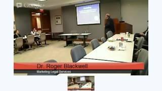 dr roger blackwell legal marketing