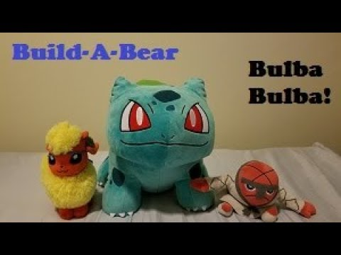 88d8c896ef2 Plush Review  Build A Bear Workshop Bulbasaur Plush - YouTube