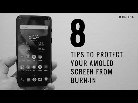8 Tips To Protect Your AMOLED Screen From Burn-In ft. OnePlus 6