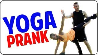 Free Yoga in the Park | Bad Ads Yogi Master PRANK