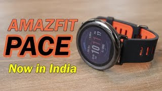 amazfit Pace review in Hindi, Best Smartwatch now in India on Amazon for Rs. 9,999