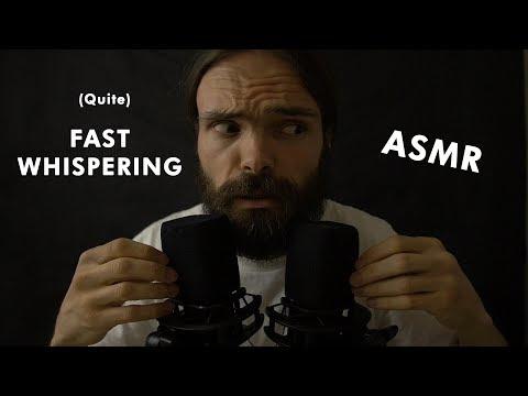 ASMR One Car one Beard (Fast whispering, beard on the mic, random triggers)