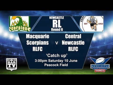 2017 Newcastle RL Round 6 - Catchup - Macquarie v Central