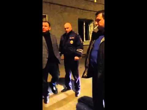 Зам Начальника полиции Владивостока оскорбляет сотрудника ГИБДД