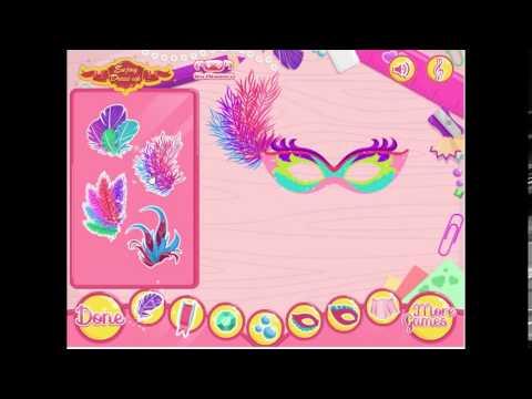 Barbie Mask Designer (Girl Game)