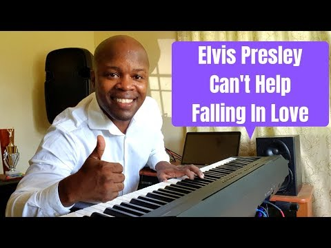 Elvis Presley Can't Help Falling In Love Piano Cover