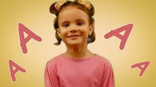 буква А - учим буквы - алфавит - Развивающее видео для детей